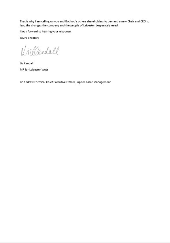 Letter to Boohoo's Shareholders - Page 3