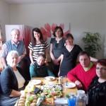 Liz meets patients doing kidney dialysis at home