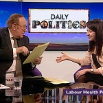 Liz appears on BBC Daily Politics