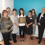Liz unveils plaque commemorating 'Godmother of New Parks'