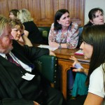 Liz meets with NHS staff who demand a fair pay deal
