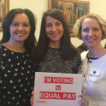 Voting for Equal Pay