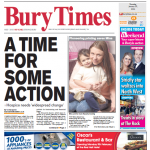 'Time for action': Campaigners call for widespread changes to save Bury Hospice (Bury Times, 30 January)