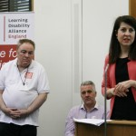 Liz helps launch Learning Disability Alliance
