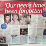 'Our needs have been forgotten' (Take a Break, 9th April)