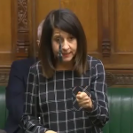 Liz challenges the government on the social care funding crisis