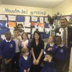 Liz visits Belgrave St Peter's School