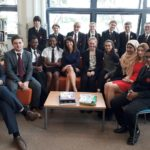 Liz quizzed at English Martyrs' Catholic School