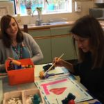 Liz visits Building Blocks project