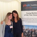 Liz congratulates local young builder for awards success