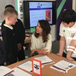 Liz visits Premier League Reading Stars project