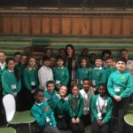 Liz meets students from Heatherbrook Primary in Parliament
