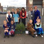 Celebrating Slater Primary School's Bronze Food for Life award