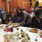 Christmas lunch at the Tudor Centre