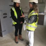 Liz visits Leicester's Young Builder of Year Finalist