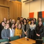 Liz meets Labour Students in Parliament