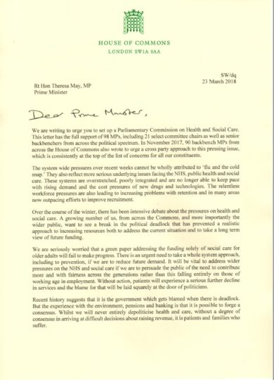 Liz Kendall » Blog Archive 98 MPs support calls for Parliamentary ...