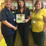 Liz visits Macmillan Support Centre