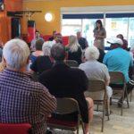 Liz holds public meeting on Biffa Stink