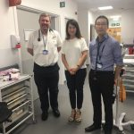 Liz visits Leicester's new A&E