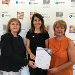 Liz congratulates Leicester West School honoured in national celebration of teaching
