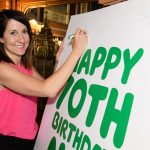 Liz marks 70th Birthday of the NHS with Macmillan Nurses