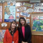 Liz visits Stokes Wood Primary School