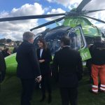 Liz attends launch of new Children's Air Ambulance