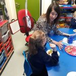 Liz visits Barley Croft Primary School