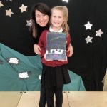Liz announces winner of Christmas Card competition