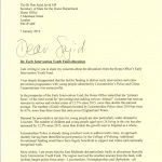 Liz writes to the Home Secretary about police funding