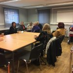 Liz holds Coffee Morning in Braunstone Park