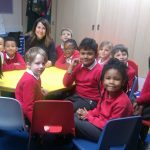 Liz visits King Richard III Infant and Primary School