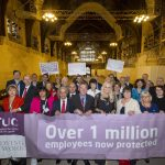 Liz marks milestone in campaign to protect terminally ill employees