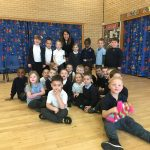 Liz joins students at Beaumont Lodge Primary School for World Autism Awareness Week