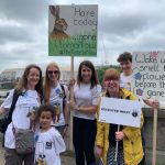 Liz meets constituents at Climate Change Lobby