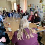 Liz holds coffee morning at Manor House Community centre