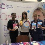 Liz backs cancer awareness campaign