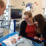 Liz visits the children's heart surgery unit at Glenfield Hospital