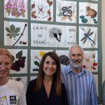 Liz meets Wildlife Trust