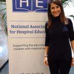 Liz speaks at National Association for Hospital Education Conference