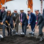 Liz attends Space Park Ground-Breaking Ceremony