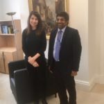 Liz meets the University of Leicester's new Vice Chancellor