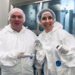 Liz visits Space Research Centre