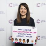 Liz joins Cancer Research UK on World Cancer Day
