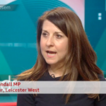 Liz appears as a guest on Sunday Politics East Midlands