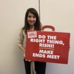 Liz backs campaign to end the need for foodbanks
