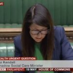 Liz asks Matt Hancock Urgent Question on coronavirus in care homes