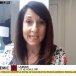 Liz talks about Leicester Lockdown on Sky News