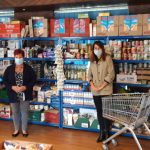 Liz visits food banks in Leicester West